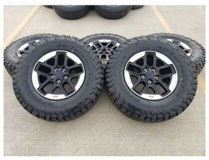 2020 rubicon wheels only for Sale in Pinon Hills, CA