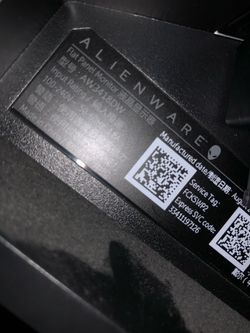 Alienware monitor curved 34in 120hz for Sale in Portland,  OR