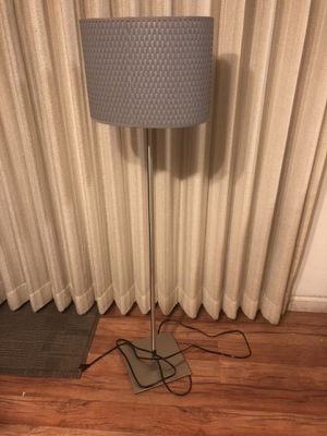 Small floor Lamp gray for Sale in Sacramento, CA