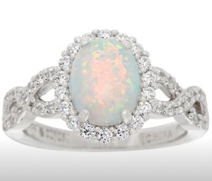 Sterling silver and opal ring size 8 for Sale in St. Cloud, FL