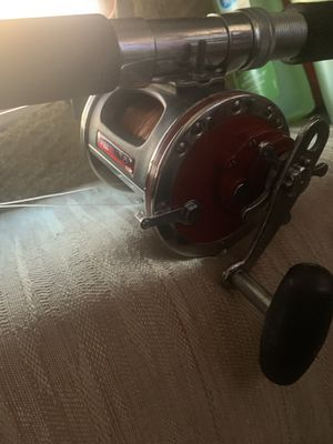 Vintage Penn Senator Graphite Special 4/0 113h Saltwater Reel/Rod for Sale in Los Angeles, CA