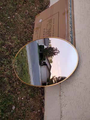 Oval Metal Wall Mirror by Drew Barrymore Flower Home for Sale in Bakersfield, CA