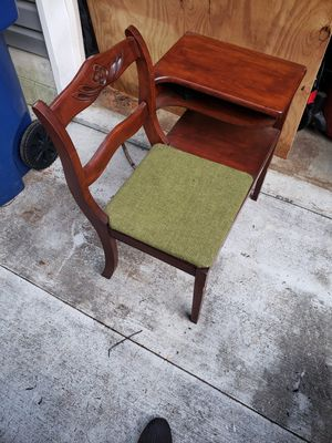 Antique phone desk for Sale in Boiling Springs, SC