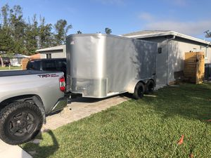 6x12 TRAILER FOR SALE! AMAZING CONDITION! 3500$ OBO for Sale in Parkland, FL