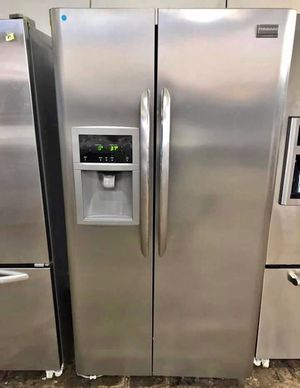 FREE DELIVERY! Frigidaire Refrigerator Fridge Stainless Steel With Warranty #997 for Sale in Ontario, CA