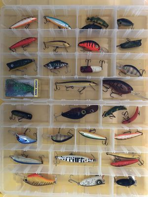 Lot of bass fishing crankbaits and more for Sale in Peoria, AZ