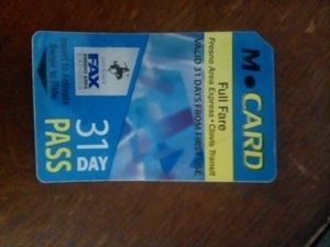 Monthly bus pass unused for Sale in Fresno, CA