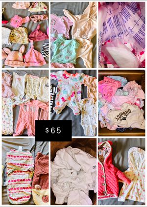 Baby girl clothes nb/0-3 for Sale in Spring Valley, CA