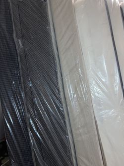 New Thick Queen Size Matress With It's Base for Sale in Lilburn,  GA