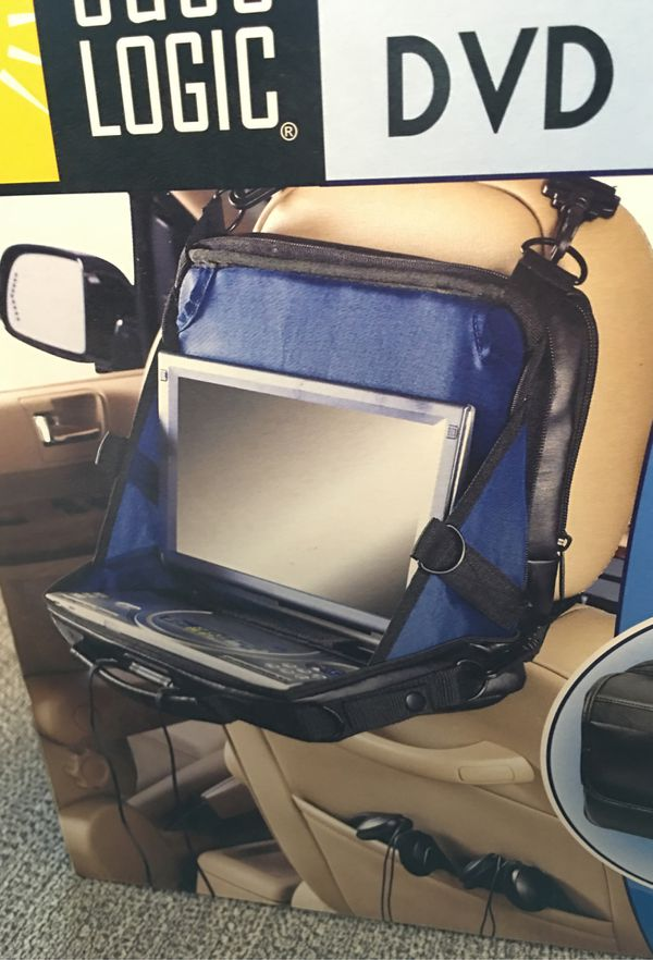 BRAND NEW Case Logic in-car dvd player case complete set