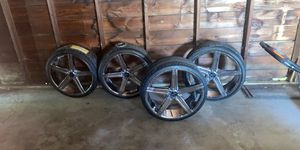 """22"""" Rims Full Set for Sale in Chicago, IL"""