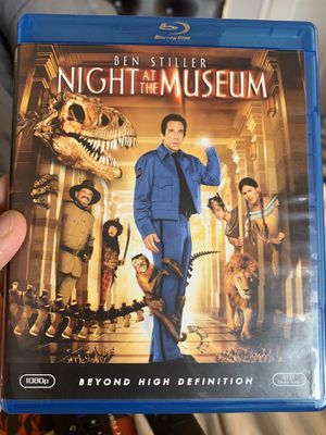 Night at the Museum Blu Ray for Sale in San Bernardino, CA