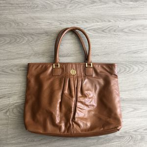 Tory Burch Saddle Brown Signature Tote Bag Purse for Sale in San Francisco, CA