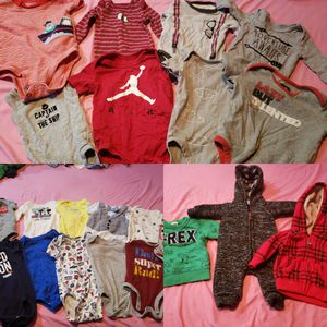 0-6 baby boy clothes lot(FREE) for Sale in Lancaster, PA