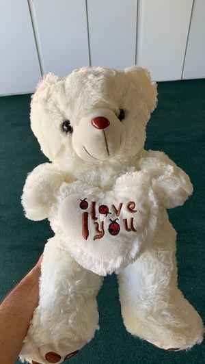 Led light up teddy bear medium for Sale in Poway, CA