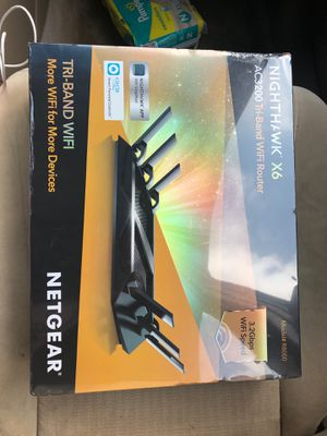 Night hawk Tri-band WiFi router for Sale in Baytown, TX