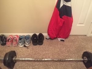 Workout curl bar for Sale in Conroe, TX