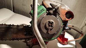 Homelite model 17 chainsaw 1954 gear drive for Sale in Brooks, OR