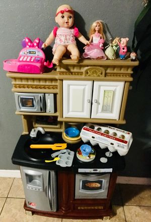 play kitchen and toys for Sale in Bloomington, CA