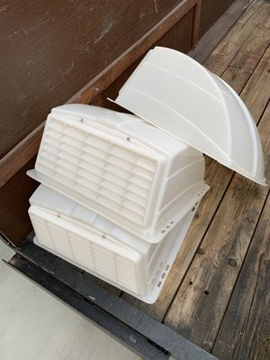 Camco rv roof vent covers for Sale in Hemet, CA