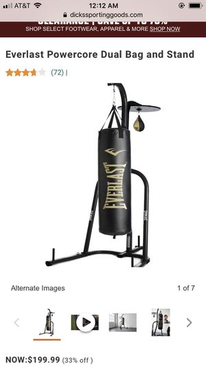 Punching bag speed bag Everlast for Sale in Miami, FL
