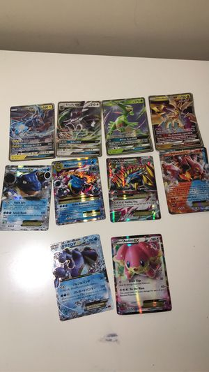 Pokémon EX/GX All 100% Authentic One bundle.(Pick up only) for Sale in Morrisville, NC