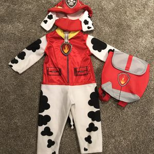 Paw Patrol Marshall Costume for Sale in Irvine, CA