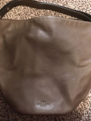 Coach Leather hobo bag brown for Sale in Centennial, CO