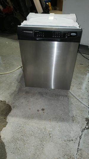Stainless GE dishwasher working great delivery available. for Sale in Kissimmee, FL