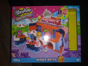 Shopkins Kinstructions Burger Bistro Building Set for Sale in South Harrison Township, NJ