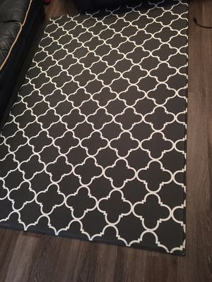 Reversible baby play mat large size grey black for Sale in Alexandria, VA