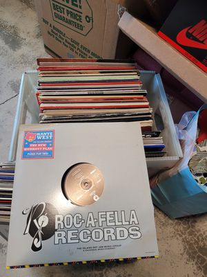 Crate of Hip Hop/RnB Vinyls for Sale in Portland, OR