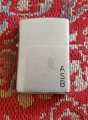Zippo with initials ASB - GREAT CONDITION! for Sale in Dayton, OH
