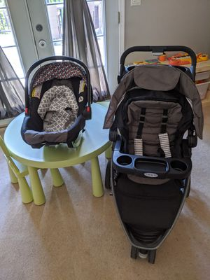 Baby Stroller travel package with carseat for Sale in Charlotte, NC