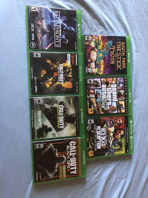 Xbox one games for Sale in Goodyear, AZ