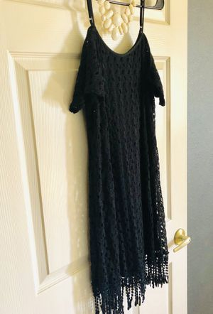 Charming Charlie Off the Shoulder Fringe Dress for Sale in Fort Myers, FL