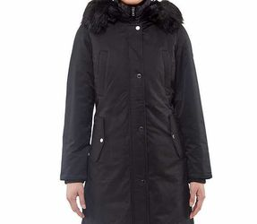Madison Expedition Ladies Long Parka Women Coat Faux Fur Hood X-Large for Sale in Los Angeles,  CA