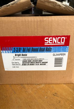 Senco Nail Gun Nails - GL24APBSN for Sale in Gresham, OR