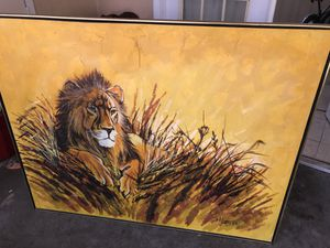 Lion Painting for Sale in St. Petersburg, FL
