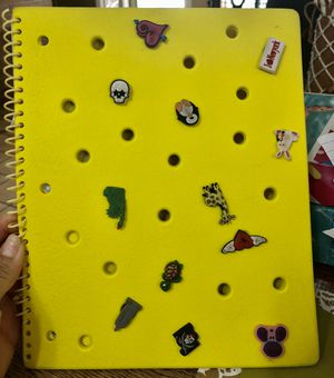 Crocs jibbitz spiral notebook for Sale in Houston, TX