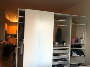 IKEA large closet with drawers and shelves for Sale in New York, NY