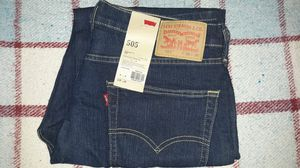 New Levi's Mens 505 Jeans 36x30 for Sale in Chandler, AZ