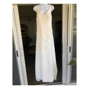 Alfred Angelo Wedding Dress Corset Back SZ 8 Ivory for Sale in Fullerton, CA