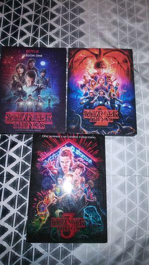 Stranger Things Seasons 1-3 DVD Set for Sale in Odessa, TX