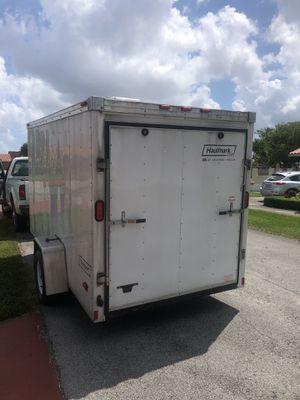 TRAILER 6x12 V-NOSE ENCLOSED TRAILER HAULMARK for Sale in Miami, FL