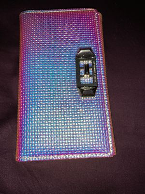 Rebecca minkoff iPhone 6, 6s, 7, & 8 holographic wallet case for Sale in Lakewood, CO