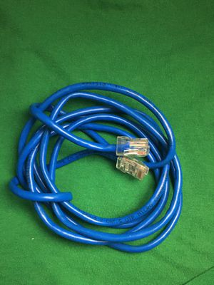 Cat 5e Patch Cable - Ethernet Cable - For Wired Internet Connection for Sale in Azusa, CA