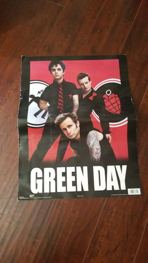 Free green day poster for Sale in Perris, CA