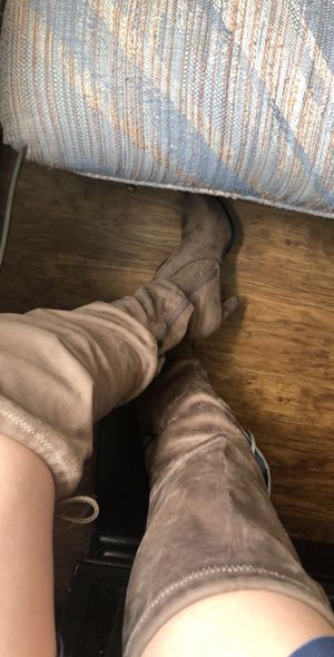 Thigh high heel boots for Sale in Aurora, CO