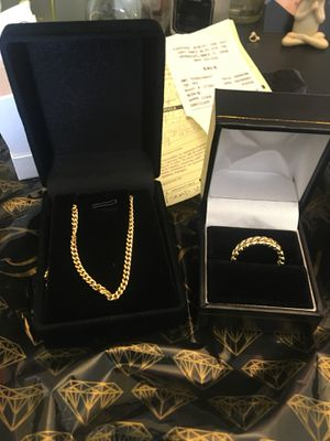 10k Gold Chain for Sale in Hollywood, FL